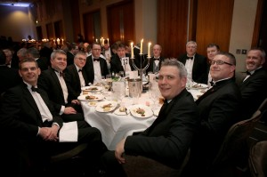 The IET Annual Dinner event at Liverpool Hilton Hotel.